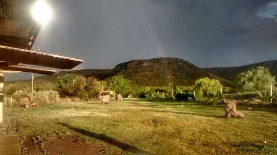 Alquilo cabaña tipo casa quinta en valle grande a orilla del rio atuel san rafael mendoza