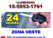 Apertura de autos en Moreno Tfno (15 5953 1791)