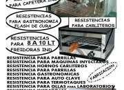Freidoras  de 10 litros,RESISTENCIAS DE FABRICA