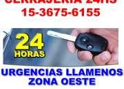Cerrajeria domiciliaria en Moron Tlfno 15-36756155