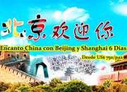 Encanto China con Beijing y Shanghai 6 Dias