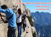 Viajar china triángulo dorado con montaña huashan 10 dias