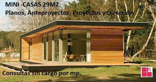 ***mini casas 29m2***