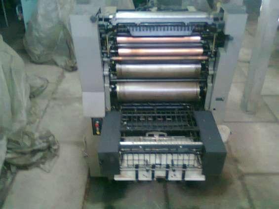 Particular x cierre maquinas graficas offset guillotina insoladora + otros