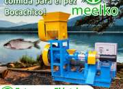 Extrusora para pellets flotantes para peces MKED040C