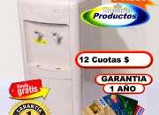 DISPENSER de PIE - Frío/Calor - P/Bidón - Garantía 1 AÑO