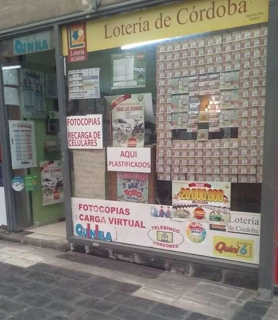 Vendo agencia de quiniela