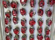 Anillos de semillas peruanas, anillos de alpaca, anillos de huayruros