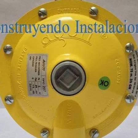 Reparacion de reguladores de gas natural