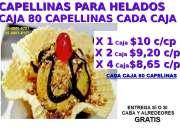 FABRICA DE  CAPELINAS PARA HELADOS ,