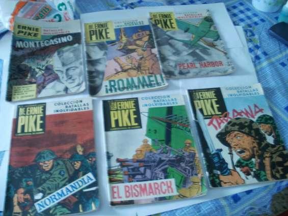 Revista ernie pike. editorial frontera. 1960/61/62