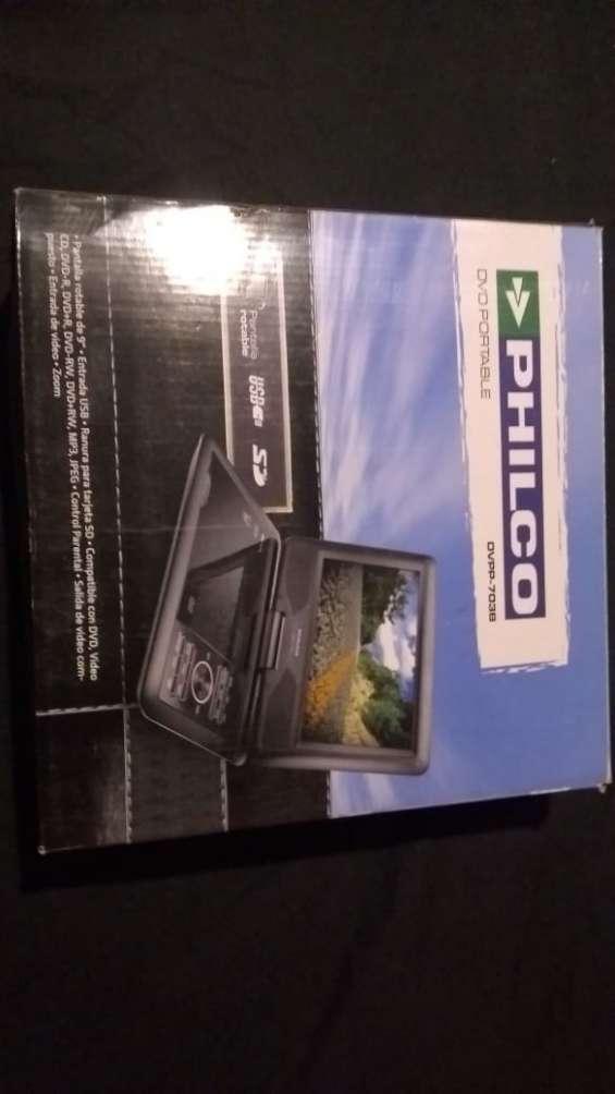 Reproductor de dvd portatil philco