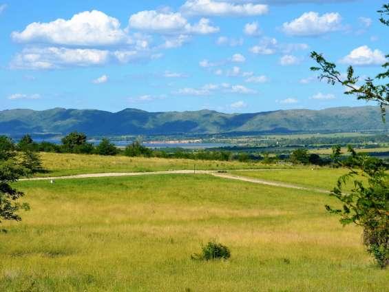 El terreno y sus vistas