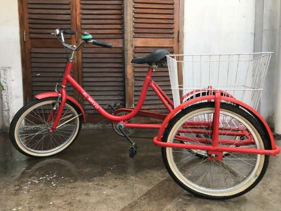 Vendo triciclo para adultos con canasto grande