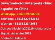 traductor interprete chino español en Beijing Pekin China