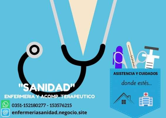 Enfermería domiciliaria sanidad