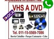 VHS A DVD -VHS A DVD