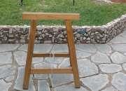 Caballete de madera reforzado varios usos