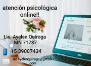 Atencion psicológica online
