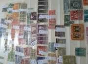 Filatelia. Compro colecciones avanzadas de estampillas