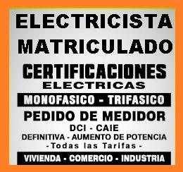 Electricista matriculado berazategui 1523920656